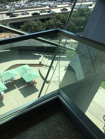 Perot Museum of Nature and Science: High up