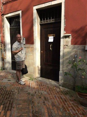 B&B Casa Baseggio : Entrance to the B & B