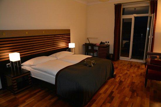 Art Deco Hotel Montana Luzern: Room