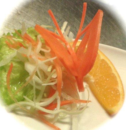 Chaba Thai : Our garnish is edible art...