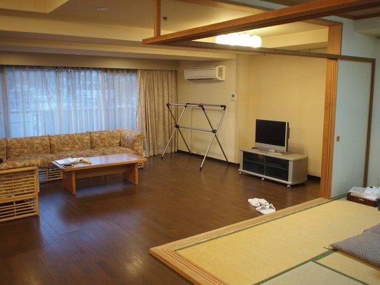 Wellnessnomori Ito : 広い客室