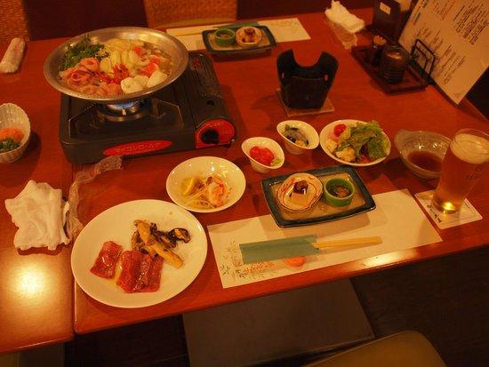 Wellnessnomori Ito : 夕食