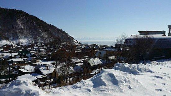 Baikalskye Terema: View from the balcony
