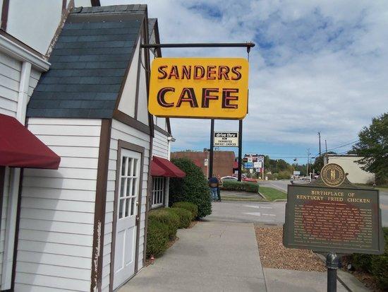 Harland Sanders Cafe And Museum Menu