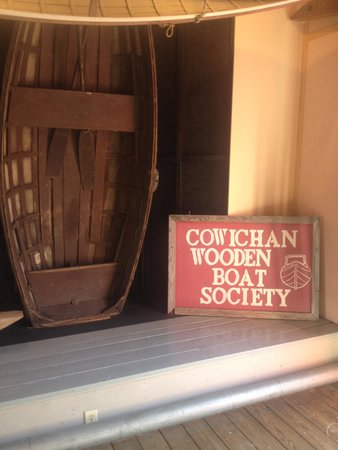 Cowichan Wooden Boat Society : Wooden boat museum