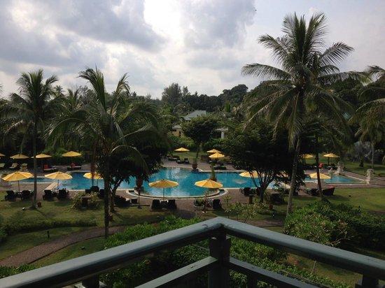 Angsana Bintan: view from superior room, 3/F