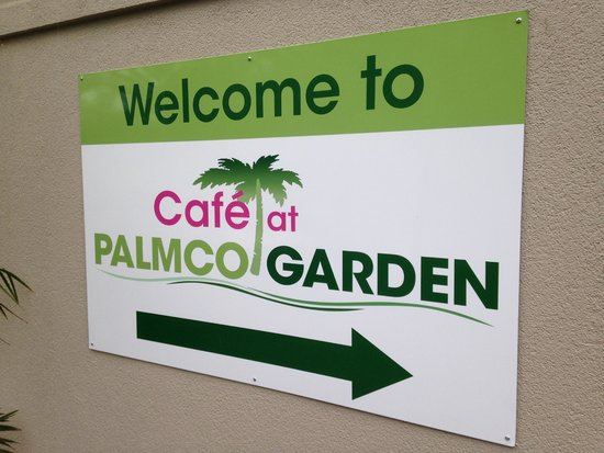 Palms Bistro and Venue: Cafe at Palmco Gardens