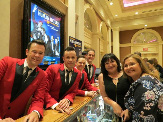 Human Nature: Jukebox : Best show in Las Vegas