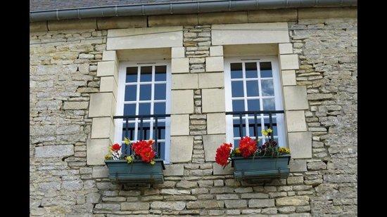 Ferme de la Ranconniere : Windows outside the hotel.