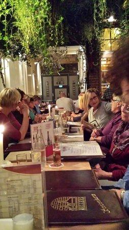 Brauerei Heller: Tolle Stimmung im Wintergarten