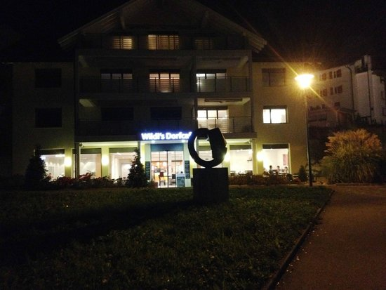 Wildi's Dorfcafé: Wildi's Dorfcafe Morschach Oktober 2014
