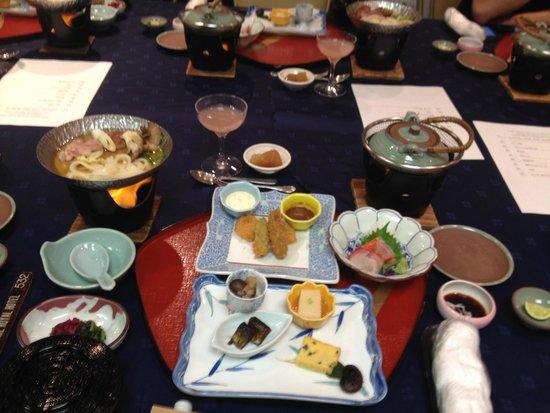 Yatsugatake Royal Hotel : Kaiseki Dinner