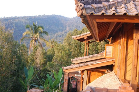 Puri Lumbung Cottages: view from our room