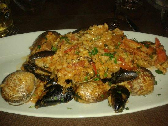 Sicilia in bocca : Risotto aux fruits de mer