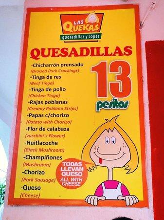 Carmen S Mexican Food Menu
