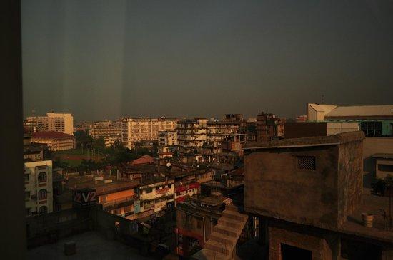 Kiranshree Portico: View towards the north