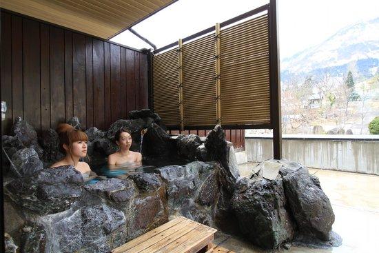石打 ユング パルナス, 露天風呂付き客室(和室)