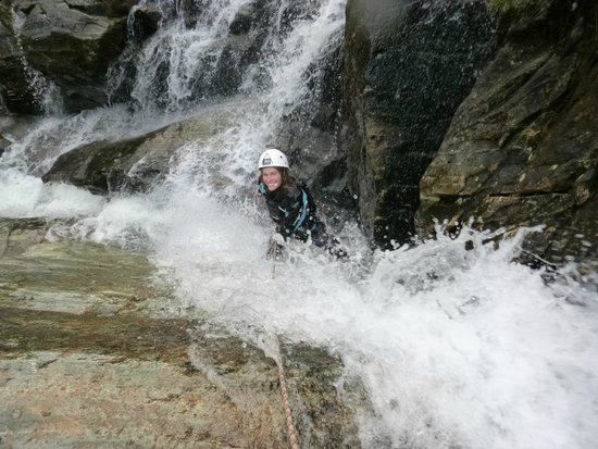 Crags Adventures: Waterfall climbing