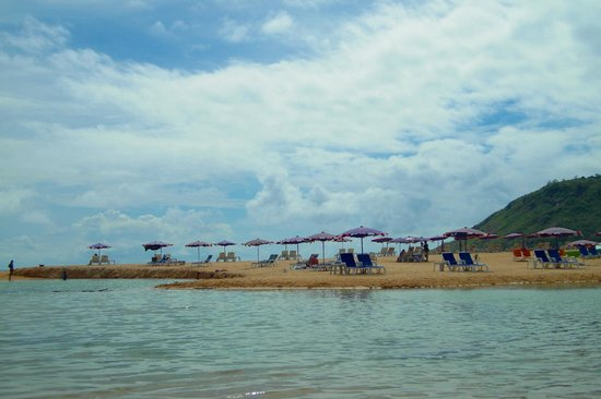 Nai harn beach only 5 minutes drive from Palm Village