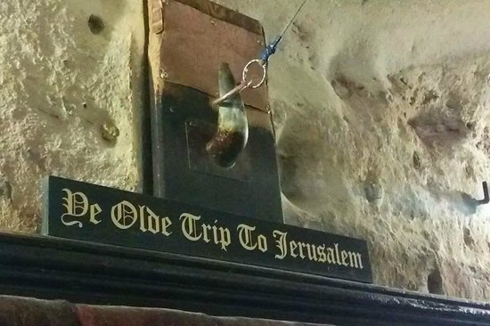 Ye Olde Trip to Jerusalem: Baiting the Bull