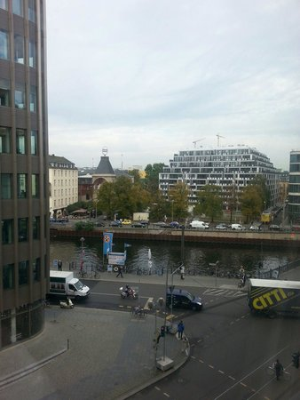 Meliá Berlin : About a third of rooms have river view. This is from 441.