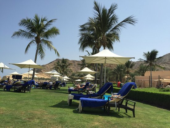 Shangri La Barr Al Jissah Resort & Spa-Al Bandar : Amazing beach