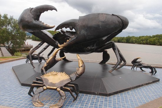 Amazing Sculptures in Krabi Town