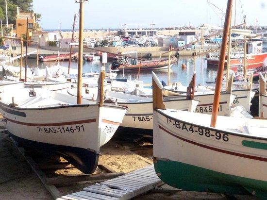 Hotel Tamariu: maman, les petits bateaux