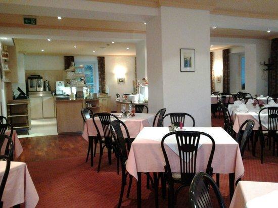 Austria Classic Hotel Heiligkreuz: Restaurant/Ontbijtruimte op de eerste verdieping
