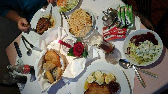 Austria Classic Hotel Heiligkreuz: Heerlijk eten