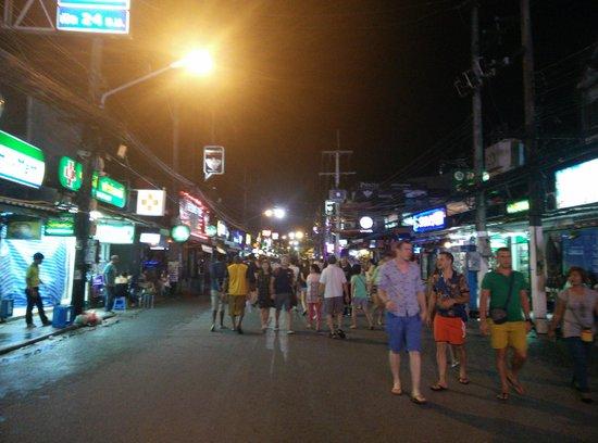 Bangla Road at night - Picture of Bangla Road, Patong ...