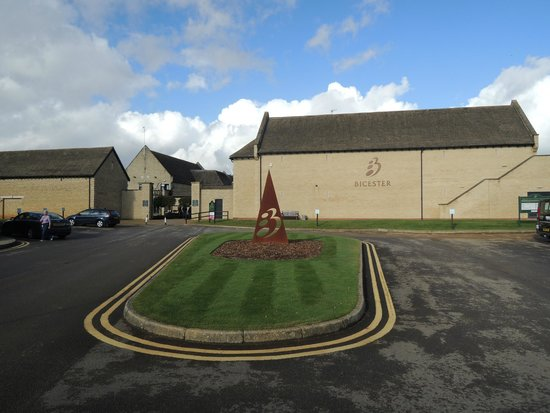 Bicester Hotel, Golf and Spa : Entrance