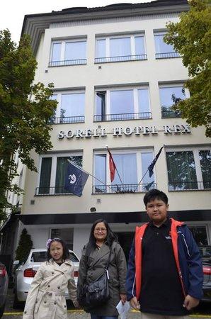 Sorell Hotel Rex: Entrance