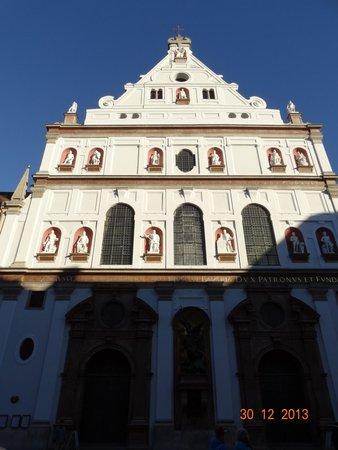 Michaelskirche: Фасад