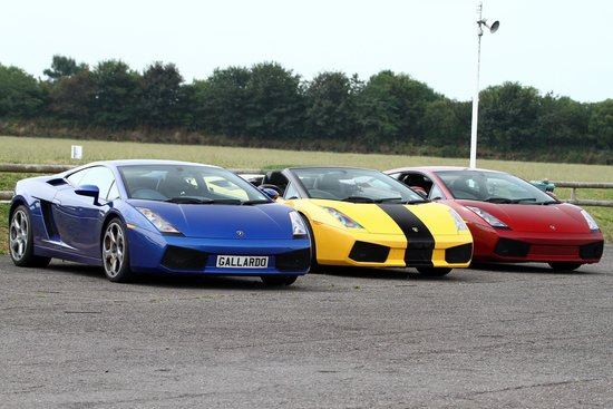 North Weald, UK: Which colour will you get to drive?