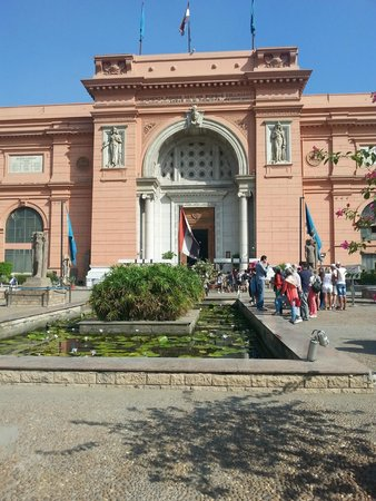 The Grand Egyptian Museum: Front of Museum