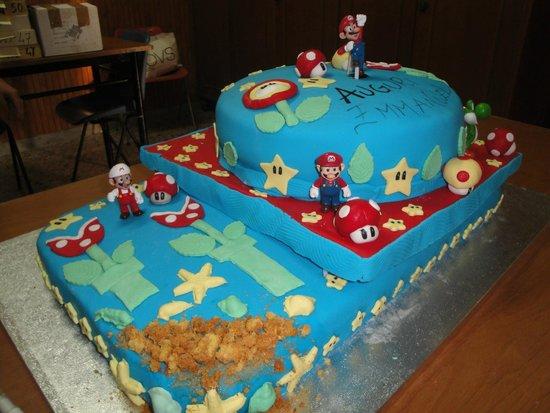 Coccole Da Lalla: Torta Super Mario