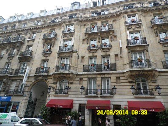 Sala da colazione e the photo de lenox montparnasse for Ideal hotel montparnasse