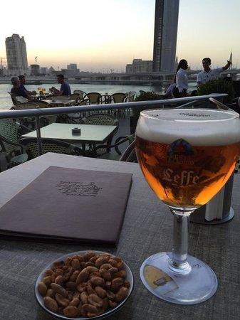 Belgian Beer Cafe Dubai Festival City : Sunset