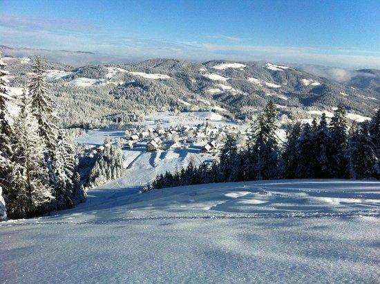 Ribnica na Pohorje, Slovenia: Ski slopes