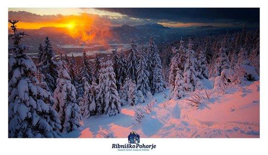 Ribnica na Pohorje, Словения: Ski area