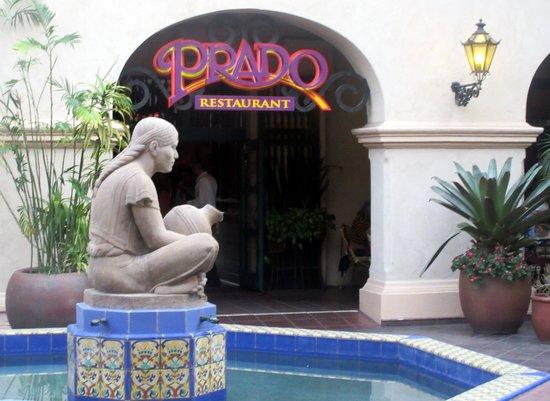 Prado Restaurant San Diego Parking