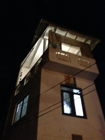 SurfCity Guesthouse: балкон на третьем этаже в башне
