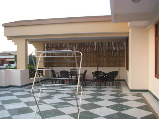 Jaipur Friendly Villa : Terrace