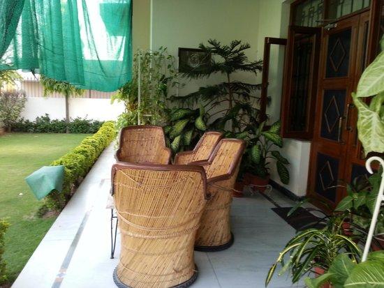 Jaipur Friendly Villa : Garden