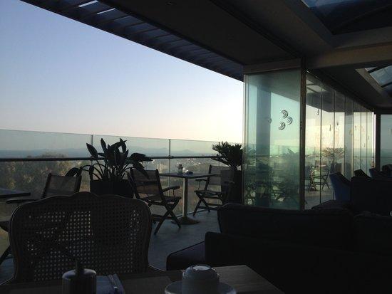 Castello City Hotel: terrazza