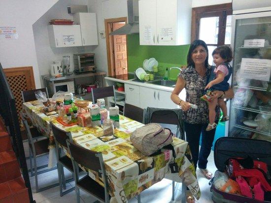 Hostal Osio : Cocina