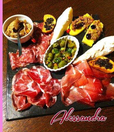 Enoteca Bacco : Il maxi tagliere Gourmet