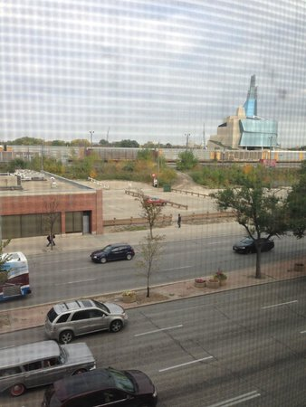 Humphry Inn & Suites: View from 405