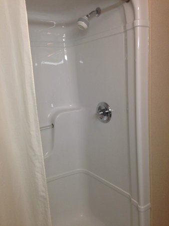 Humphry Inn & Suites: The shower